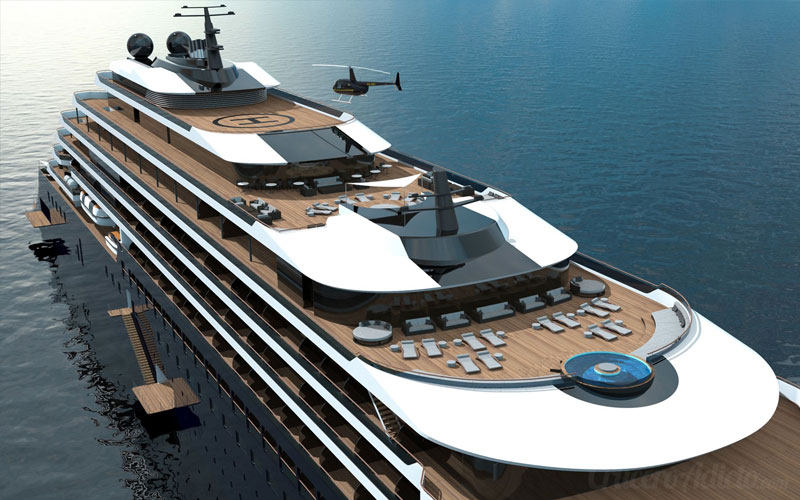 The Ritz-Carlton Yacht Collection Astilleros españoles construirán 3 yates de ultralujo de Ritz-Carlton - CruceroAdicto.com