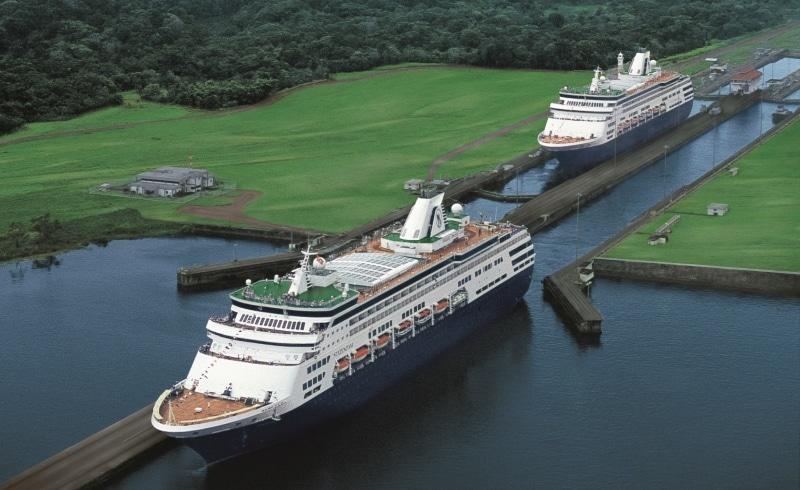 Holland America el Canal de Panamá