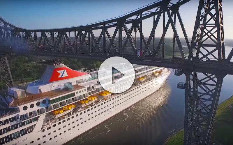 canal navegable más activo del mundo