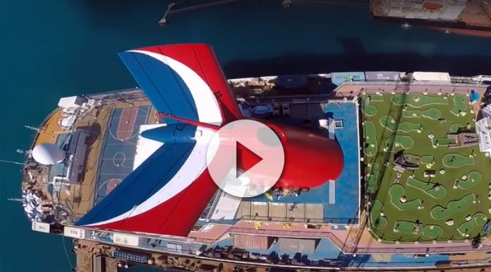 Carnival Dream en el dique seco