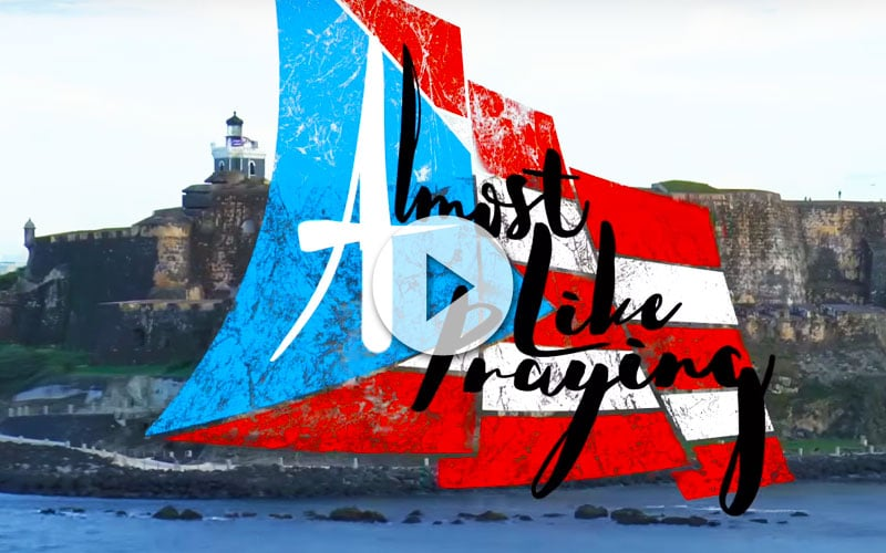 almost like a praying for Puerto Rico Vídeos de Cruceros - CruceroAdicto.com Vídeos de Cruceros - CruceroAdicto.com