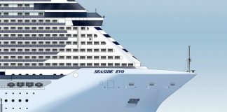 msc seaside EVO
