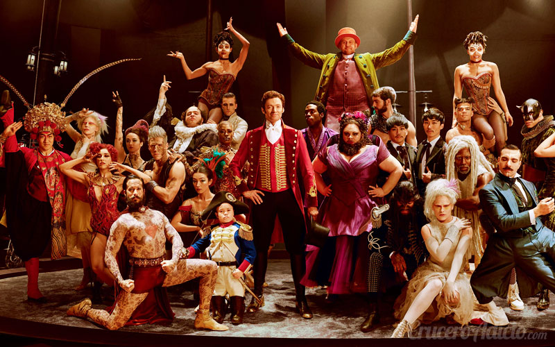 The Greatest Showman – Estreno mundial de la película en Queen Mary 2 The Greatest Showman – Estreno mundial de la película en Queen Mary 2 - CruceroAdicto.com