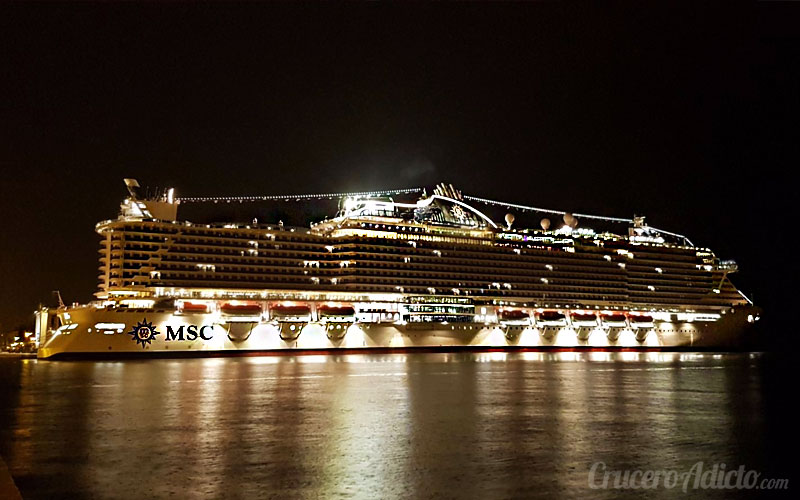 MSC Seaside Trieste