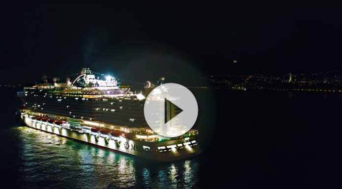 ovation of the seas navegando el rio ems - Ovation of the Seas navegando el rio Ems, simplemente espectacular! - CruceroAdicto.com