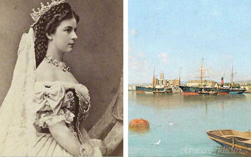 Emperatriz Sissi visita Málaga