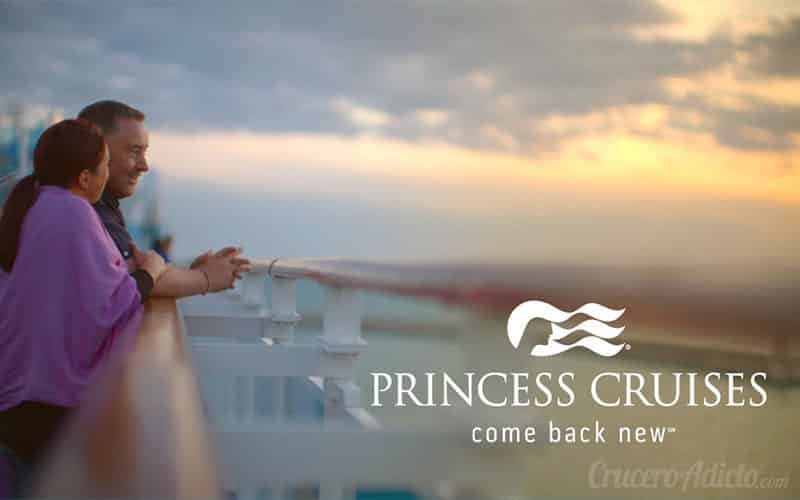 come back new Princess Cruises Princess Cruises ofrece propinas incluidas en sus cruceros - CruceroAdicto.com