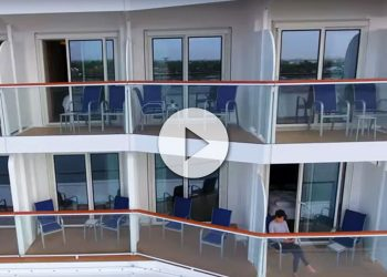 Vídeo grabado con drone desde balcón de crucero Espectacular vídeo del Serenade of the Seas - CruceroAdicto.com Espectacular vídeo del Serenade of the Seas - CruceroAdicto.com