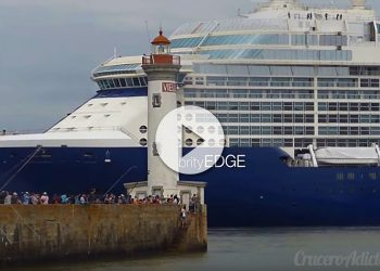 Celebrity Edge Pruebas de mar Vídeo del Anthem of the Seas golpeado por tormenta - CruceroAdicto.com Vídeo del Anthem of the Seas golpeado por tormenta - CruceroAdicto.com
