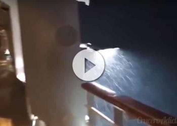 Empress of the Seas cruzando el huracán Michael Vídeo del Anthem of the Seas golpeado por tormenta - CruceroAdicto.com Vídeo del Anthem of the Seas golpeado por tormenta - CruceroAdicto.com