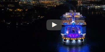 Symphony of the Seas llegando a Miami Video Costa Concordia reflotado y en movimiento - CruceroAdicto.com