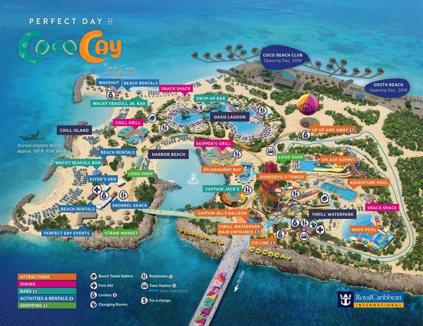 Perfect Day at CocoCay Inaugurada la isla privada de Royal Caribbean Perfect Day at CocoCay - CruceroAdicto.com