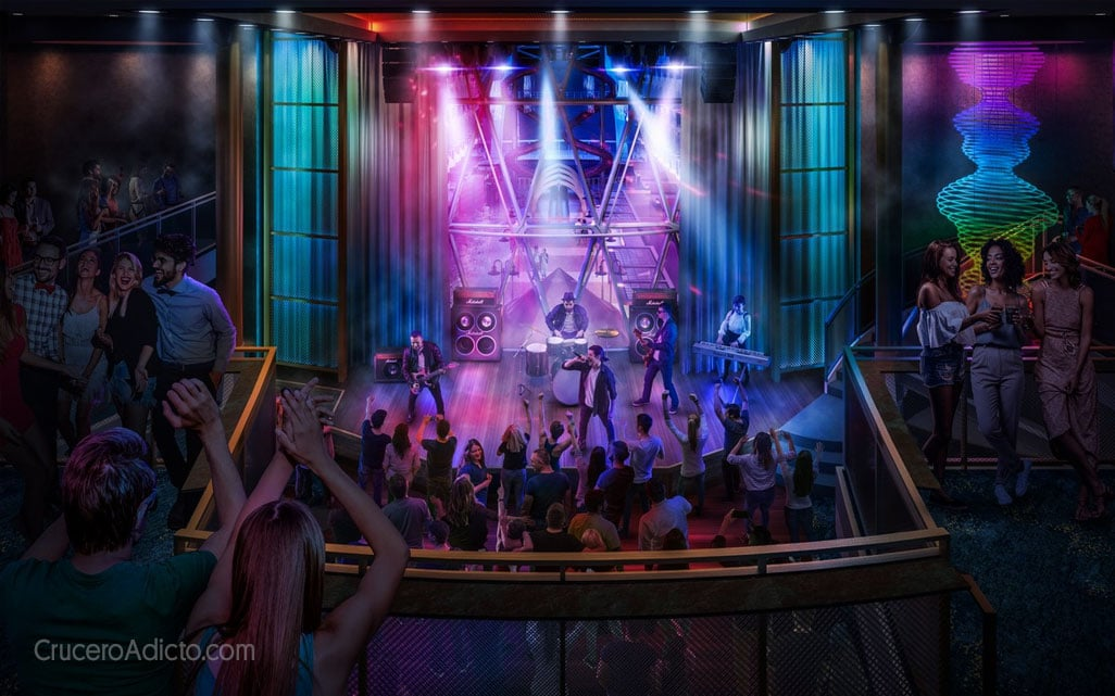 Oasis of the Seas amplied