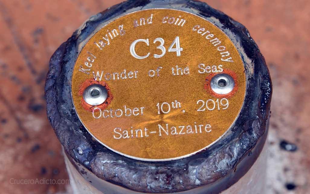 Chantiers de l'Atlantique Royal Caribbean revela puerto y nombre del quinto barco clase Oasis - CruceroAdicto.com